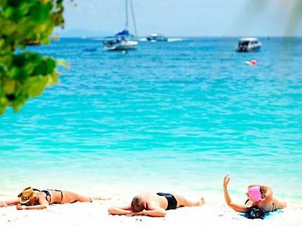 หาดเกาะกวาง มนต์ขลังแห่ง คลองม่วง กระบี่